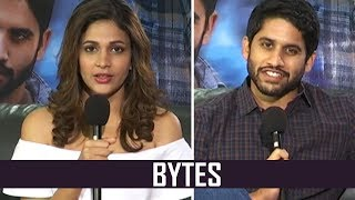 Telugutimes.net Naga Chaitanya and Lavanya Tripathi Bytes About Yudham Sharanam