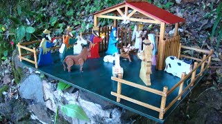 Wood Toy Plans - Brazilian Christmas Nativity Set
