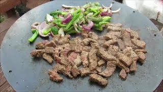 Fajitas - Steak Fajitas - How To Make Steak Fajitas - Mojoe Griddle