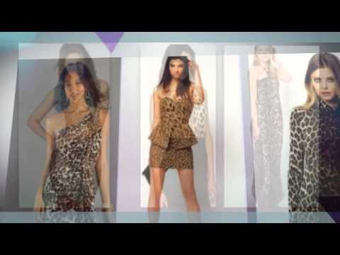 расцветки фото платье леопардовой длинное