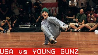 USA vs Young Gunz / ALL VS ALL / The Notorious IBE 2018