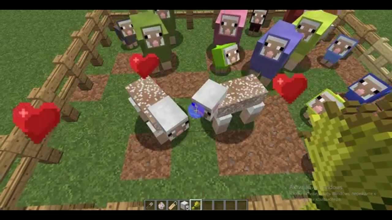 Как сделать овец в minecraft фото 632