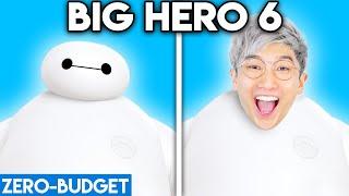 BIG HERO 6 WITH ZERO BUDGET! (BIG HERO 6 MOVIE PARODY BY LANKYBOX!)