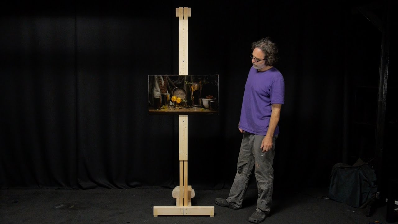 How to make a great artists easel youtube how to make a great artists easel solutioingenieria Gallery