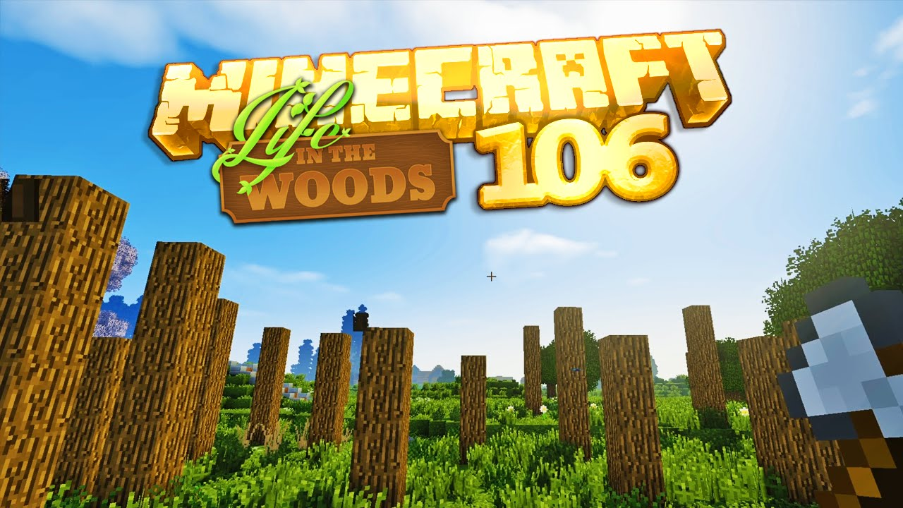 LIFE IN THE WOODS SE Minecraft GESCHROTTET YouTube - Minecraft hauser gronkh