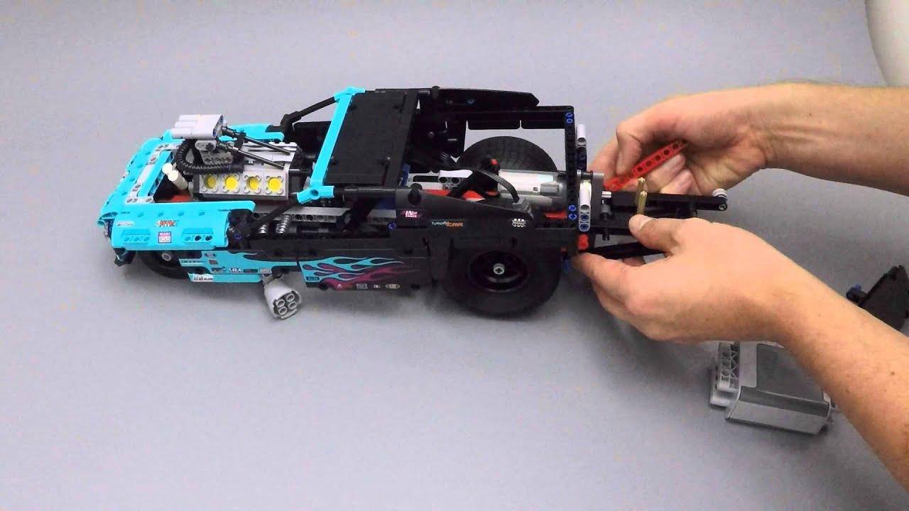 lego technic 42050 drag racer power functions youtube rh youtube com