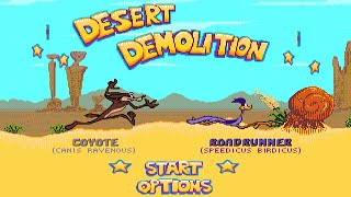 DESERT DEMOLITION - Coyote прохождение SEGA Mega Drive (Genesis) [005]