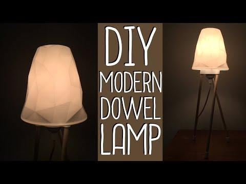 Modern Dowel Lamp! (DIY 3D-Printed)