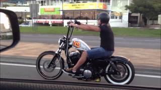 Harley Davidson Custom Bobber Chopper Sportster Forty Eight 48 Cruising