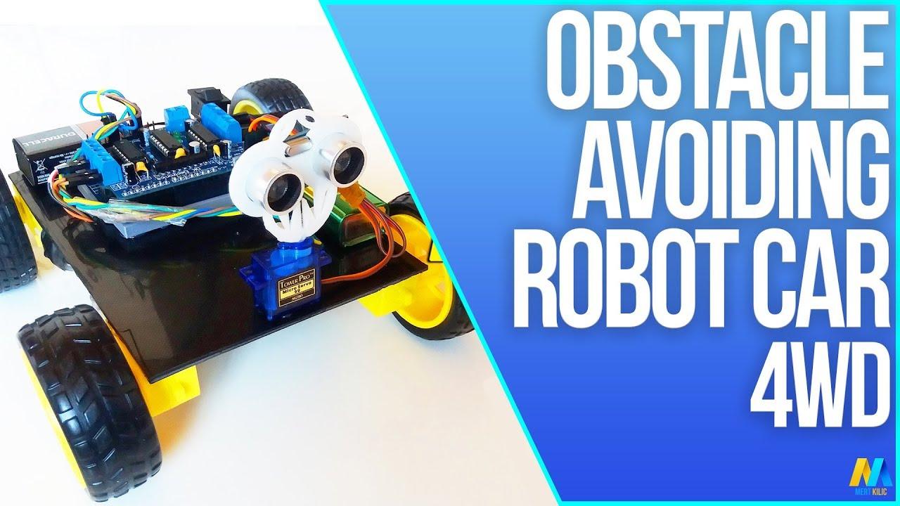 Arduino project obstacle avoiding robot wd miniarduino