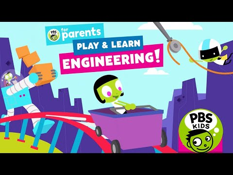 Play And Learn Engineering - Explore, Design And Build By PBS KIDS