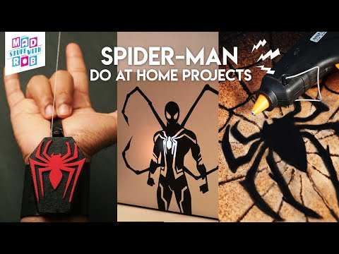 3 AMAZING SPIDER-MAN DIYs | Marvel Fans