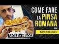 Gambar cover Come fare la PINSA ROMANA – metodo ORIGINALE con Marco Montuori