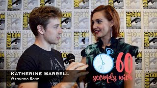 60 Seconds with Katherine Barrell