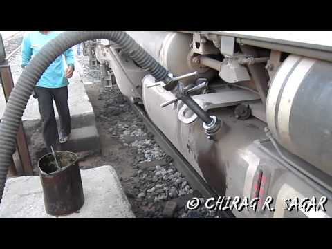 Diesel filling in first GM EMD WDG4 # 12001 (part 3)