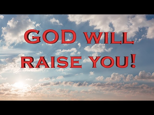 God will raise the dead area of your life! (Eng subs)