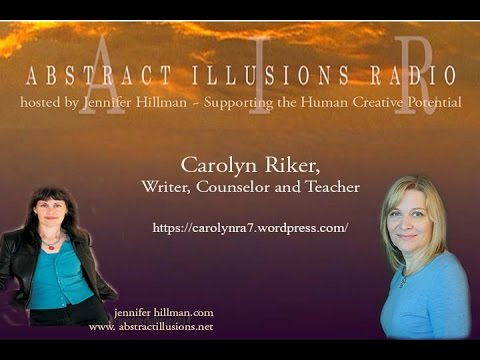 Abstract Illusions Radio With Writer Carolyn Riker