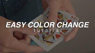 EASY Color Change TUTORIAL | @dkmagician