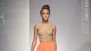 Talented Teen Model Christi Rodriguez @ Couture Fashion Week NYC 2015