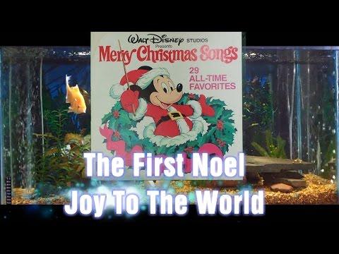 The First Noel = Joy To The World = Merry Christmas Songs = Walt Disney