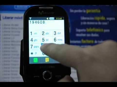 Liberar Samsung S3650, cómo desbloquear Samsung S3650 Corby de Movistar - Movical.Net