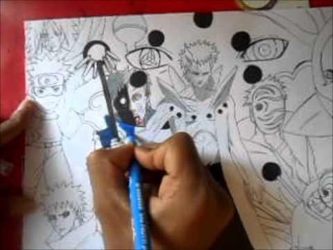 dessiner obito draw obito youtube