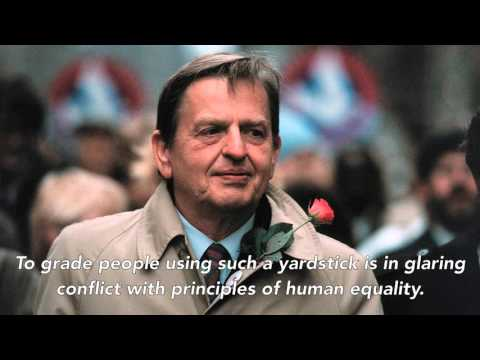 Olof Palme's legendary speech on immigration