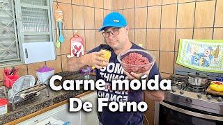 Carne Moída Com Batata De Forno