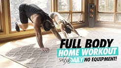 AT HOME | FULL BODY WORKOUT | #DLBDAILY