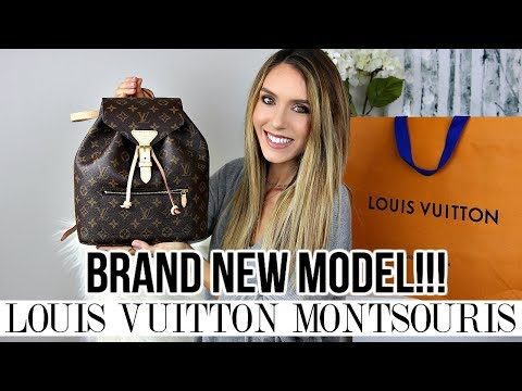 NEW MODEL LOUIS VUITTON MONTSOURIS BACKPACK | FIRST IMPRESSIONS & MODSHOTS | Shea Whitney