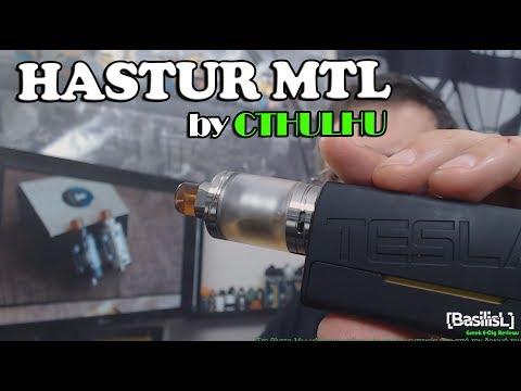 Hastur MTL RTA by Cthulhu & Build- BasilisL (Greek Reviews)