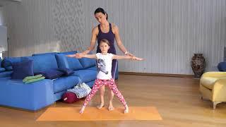 Йога для детей. Урок 6