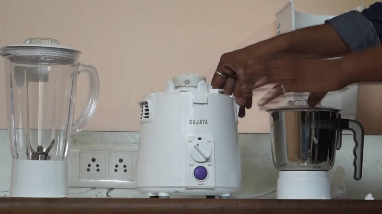 Sujata Powermatic Plus 810 Watts Juicer Mixer Grinder JMG Unboxing Demo & Review Video | How to use