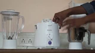 Sujata Powermatic Plus 810 Watts Juicer Mixer Grinder JMG Unboxing Demo & Review Video   How to use