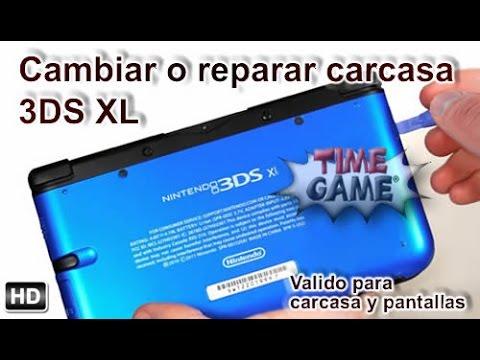 Como desmontar y reparar lo mas común 3DS XL