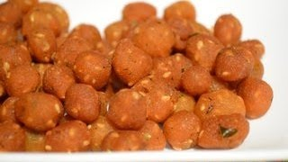 Paalakaayalu - Spicy Rice balls - Andhra Savory Recipe