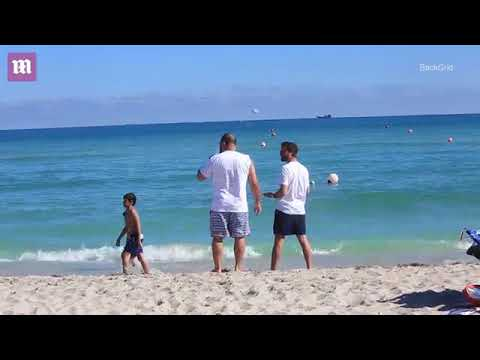 Beach Boys Scott Disick Friend And Sons Hang In Miami