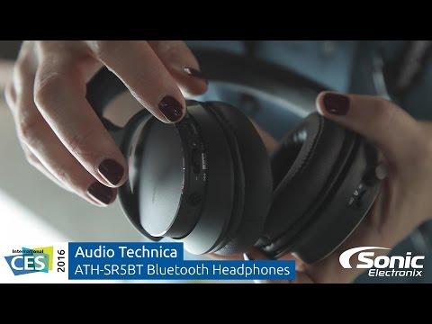 Audio Technica ATH-SR5BT Bluetooth On-Ear Headphones | CES 2016