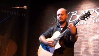 "Andy Mckee - ""For My Father"" (original) - Live @ Six Bars Jail, May 29th, 2015"