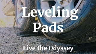 DIY RV Leveling Pads - S01E54  Live the Odyssey