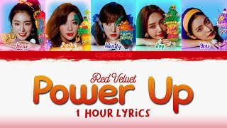 ( 1 HOUR LOOP / 1 HORA / 1 시간 ) Red Velvet 레드벨벳 'Power Up' COLOR CODED LYRICS (Han/Rom/Eng) MP3