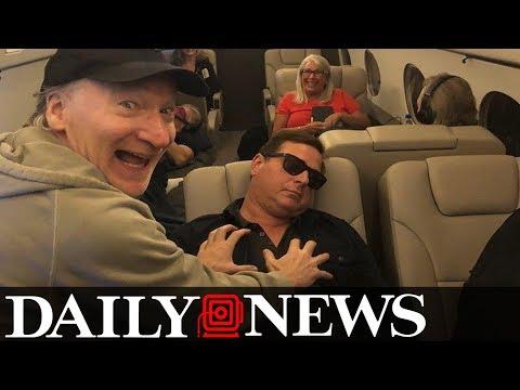 Bill Maher mocks Al Franken groping photo