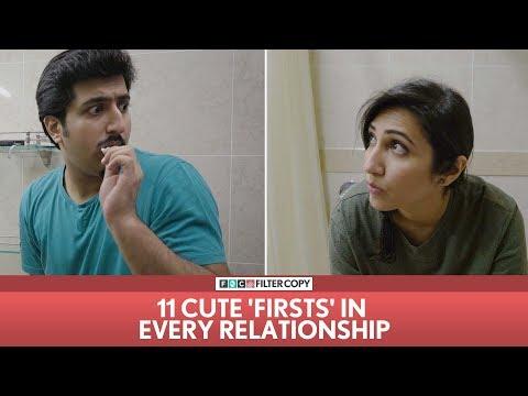 FilterCopy   11 Cute 'Firsts' In Every Relationship   Ft. Kriti Vij and Pranay Manchanda