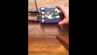 Fuzzrocious Heliotropic Fuzz Pedal