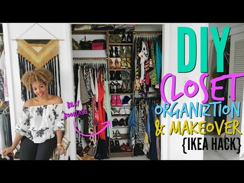DIY Closet Organization   IKEA HAck<a href='/yt-w/C3IV46pXrag/diy-closet-organization-ikea-hack.html' target='_blank' title='Play' onclick='reloadPage();'>   <span class='button' style='color: #fff'> Watch Video</a></span>
