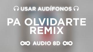 ChocQuibTown, Zion & Lennox, Farruko - Pa Olvidarte (Remix) ft. Manuel Turizo (AUDIO 8D)