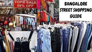 Chickpet, Koramangala, Majestic Street Shopping - Bangalore Street Shopping Guide  