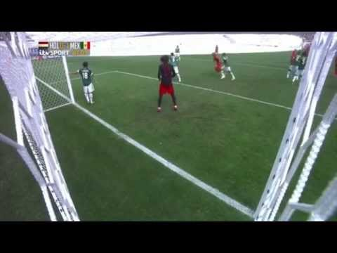 [HD] Wesley Sneijder Goal vs Mexico in FIFA World Cup 2014 Brazil HD