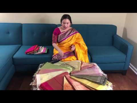Latest Chanderi Saree Collection Buy Online | Bengal Looms USA