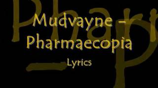Mudvayne - Pharmaecopia lyrics on screen